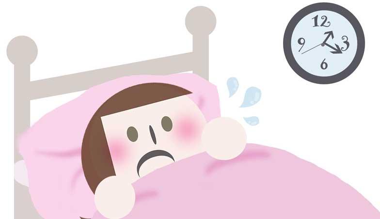 寝汗がひどい原因は?病気の可能性も?誰でもできる対策法とは!