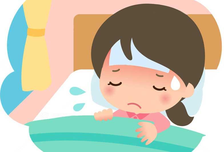 風邪で汗が止まらない原因・対処法は?無理に汗をかくのはNG!